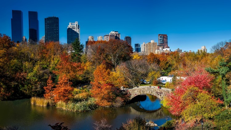 best places to visit in USA in fall New York City
