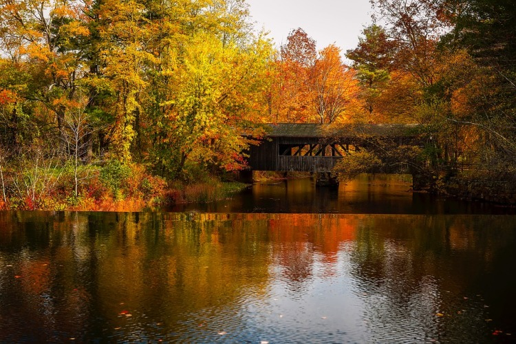 best places to visit this fall in USA Massachusetts Berkshires