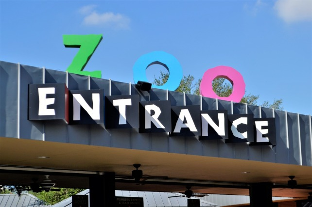 houston zoo entrance. houston zoo photos. things to do in housotn