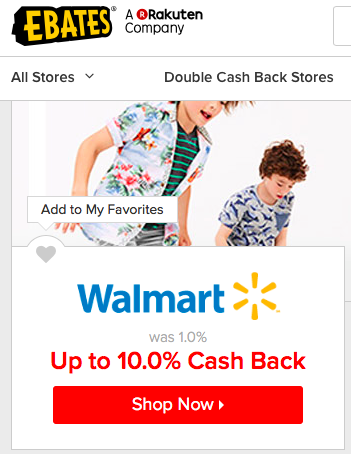 walmart cash back Ebates. how to use Ebates for cash back