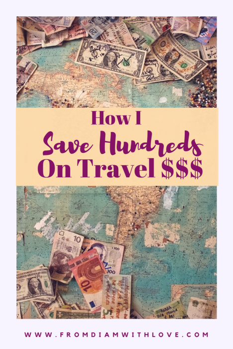 save money for travel. how to save for travel. how to save money for travel. money saving travel tips. budget travel tips. affordable travel tips. how to save money on travel. how I save money on travel. save hundreds on travel. save on travel with Ebates.